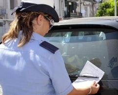 polizia municipale multa
