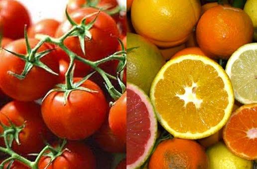 pomodori agrumi