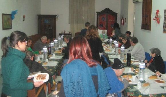 pranzo con i poveri