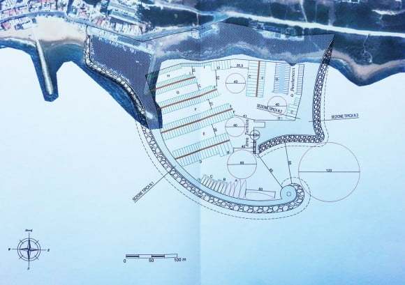 Immagine del progetto preliminare presentato nel settembre del 2013