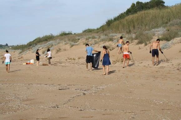 pulizia spiaggia selinunte 1