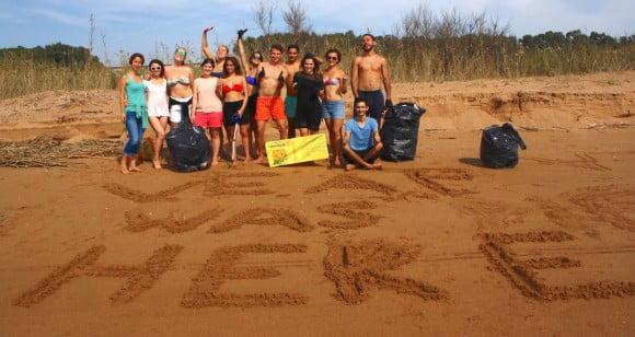 pulizia spiaggia selinunte 2