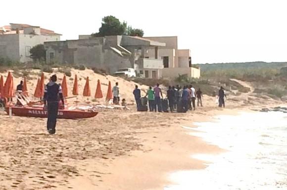 pulizia spiaggia triscina 1