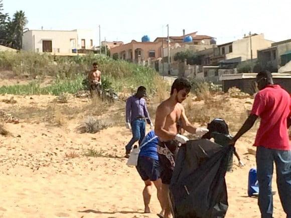 pulizia spiaggia triscina 3