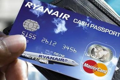 ryanair carta di credito