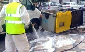 sanificazione rifiuti