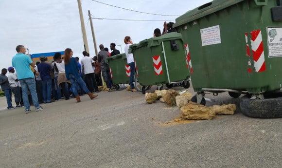 sciopero migranti triscina 3
