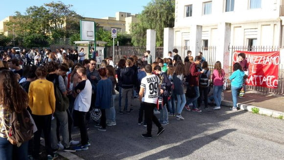 sciopero studenti castelvetrano 4
