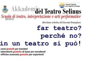 scuola teatro castelvetrano