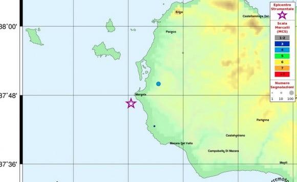 terremoto marsala
